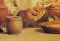 cristo santa cena - pascua