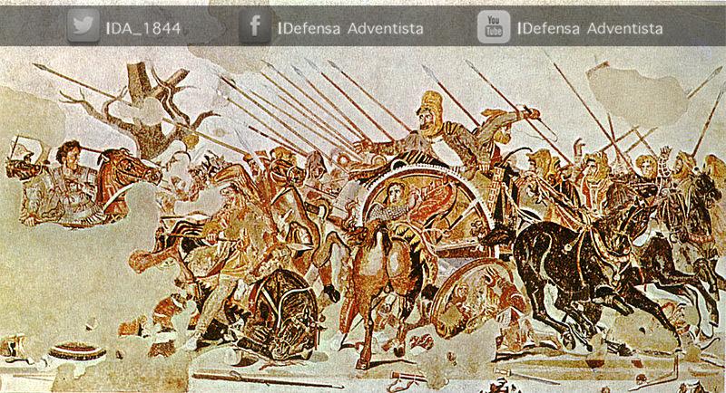 Alejandro-Magno-lucha-contra-Dario-III